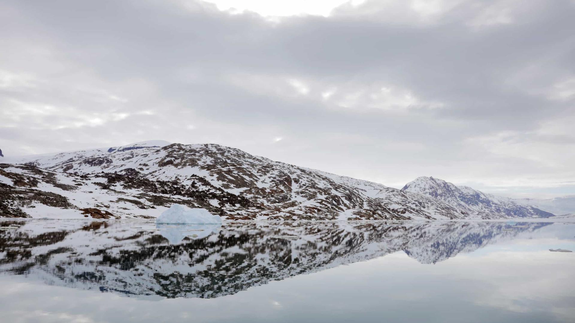 Gronelândia perdeu 7 vezes mais gelo nos últimos anos do que nos anos 90
