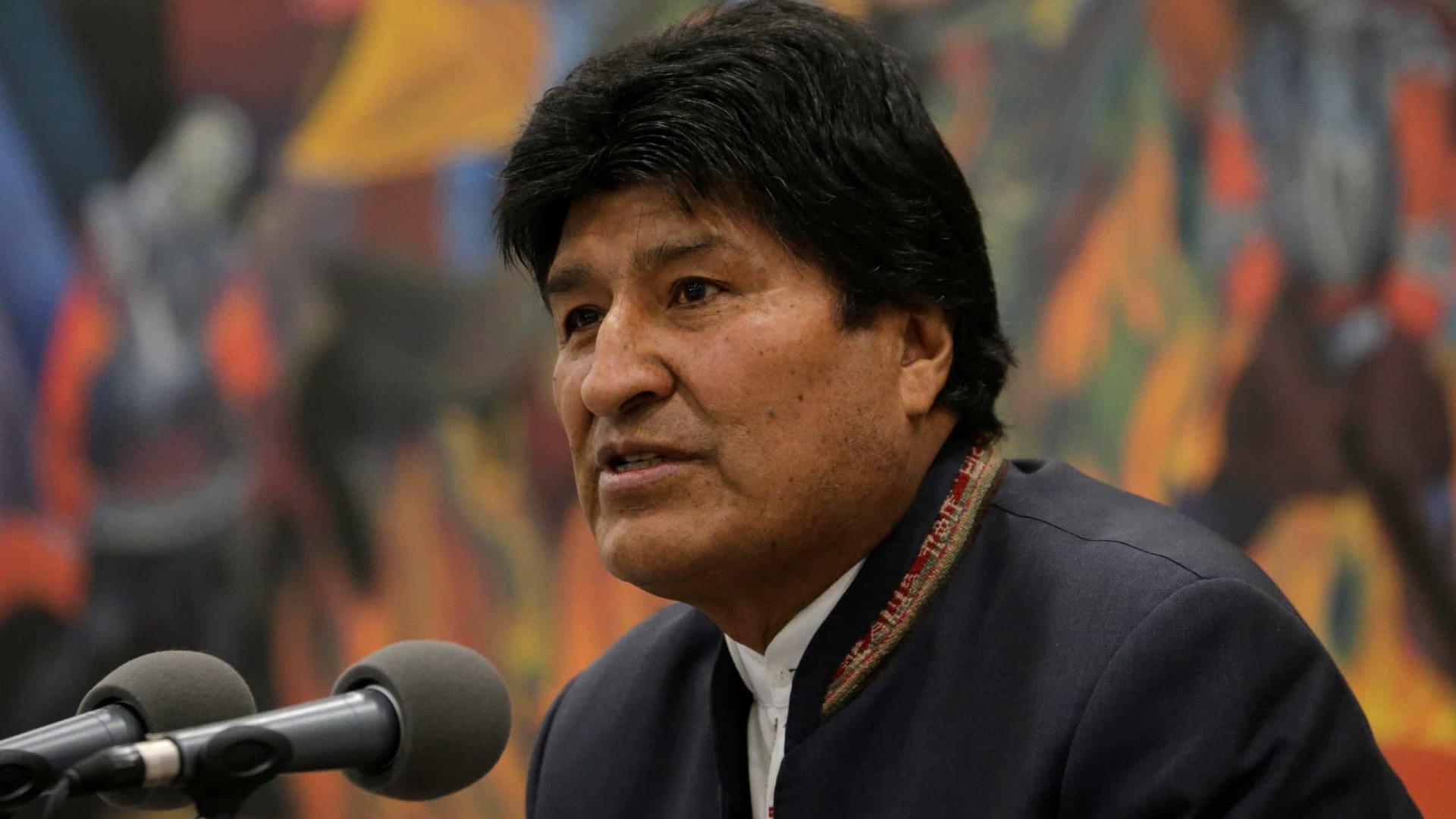 Justiça boliviana anula ordem de detenção contra Evo Morales