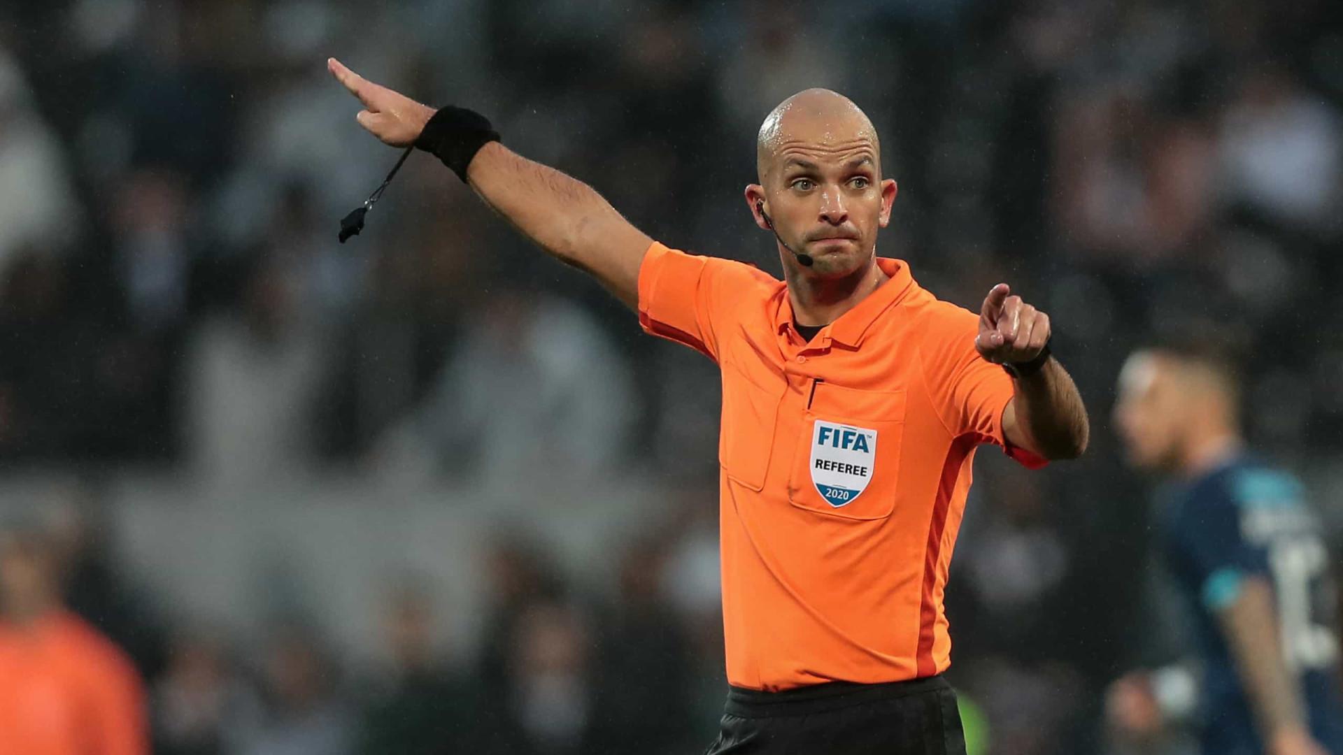Luís Godinho é o árbitro do Gil Vicente-Benfica
