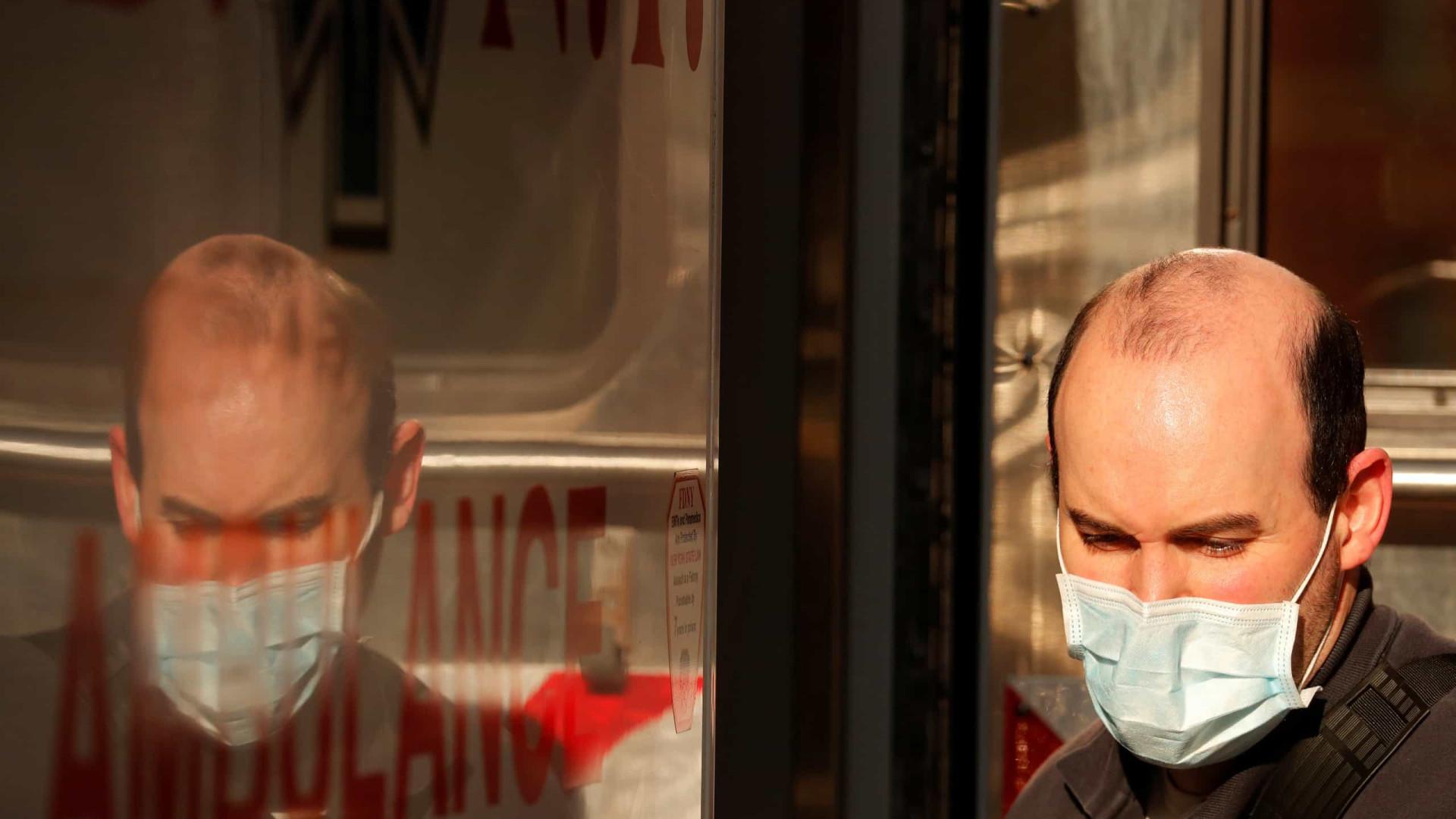 Covid-19: Estudo estima taxa de mortalidade entre 1% e 2% em Nova Iorque