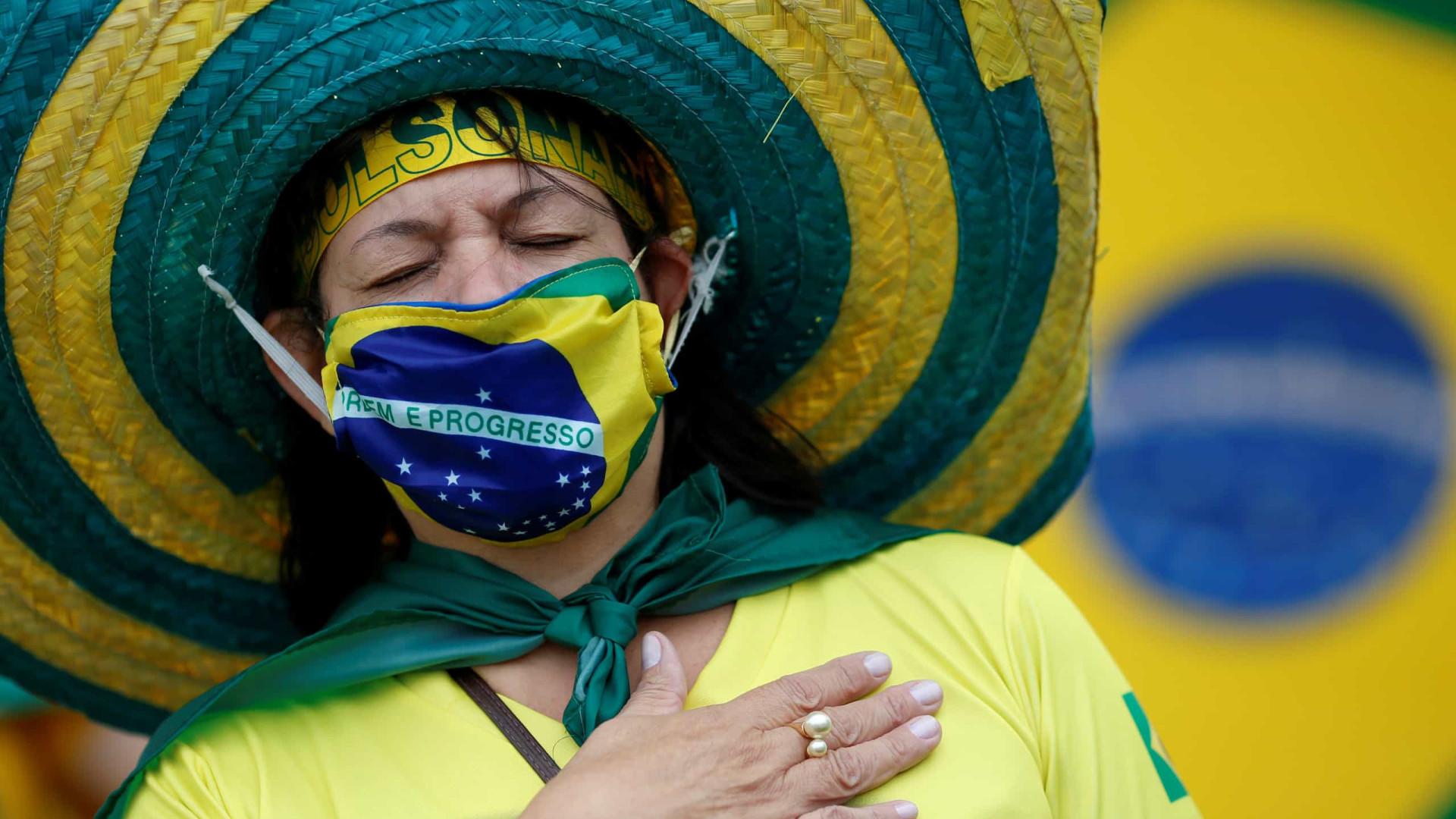 Brasil ultrapassa as 60 mil mortes. Houve 1.038 óbitos em 24 horas