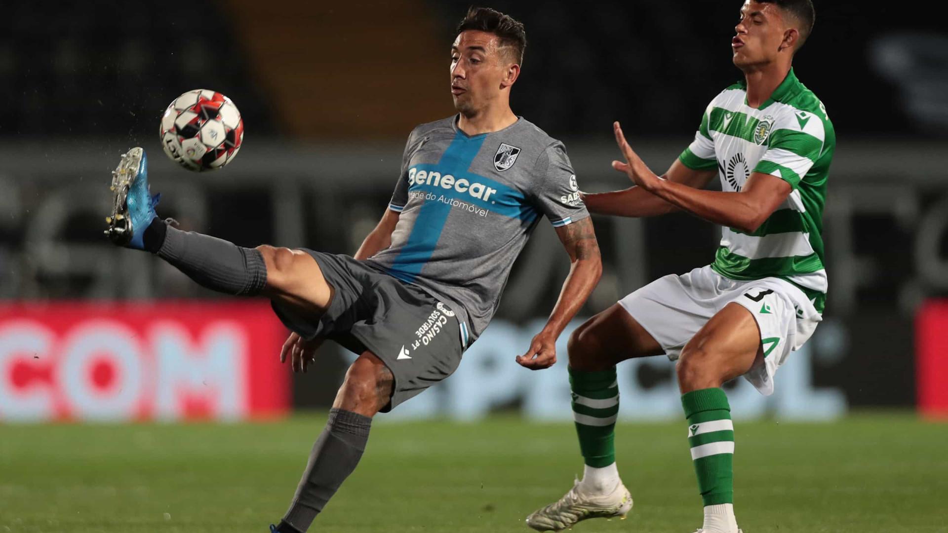 """Matheus Nunes """"muito feliz pela estreia"""" na equipa principal do Sporting"""