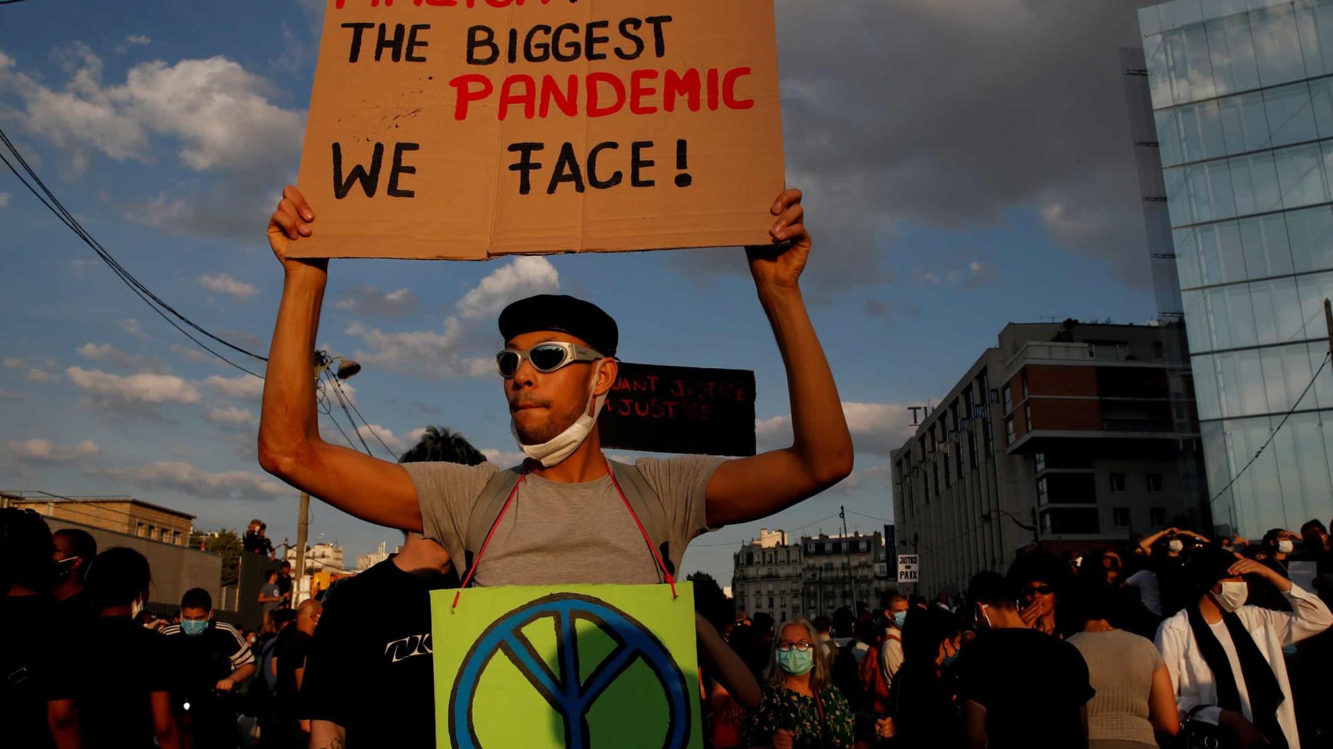 Apelos para novos protestos contra racismo e violência policial em França