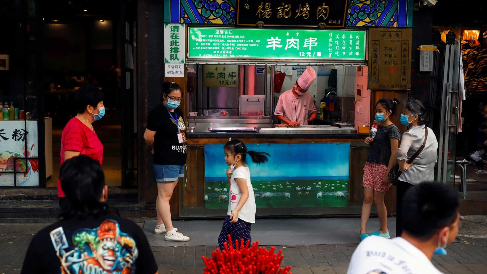 China com 3 novos casos nas últimas 24 h, 1 em Pequim e 2 importados