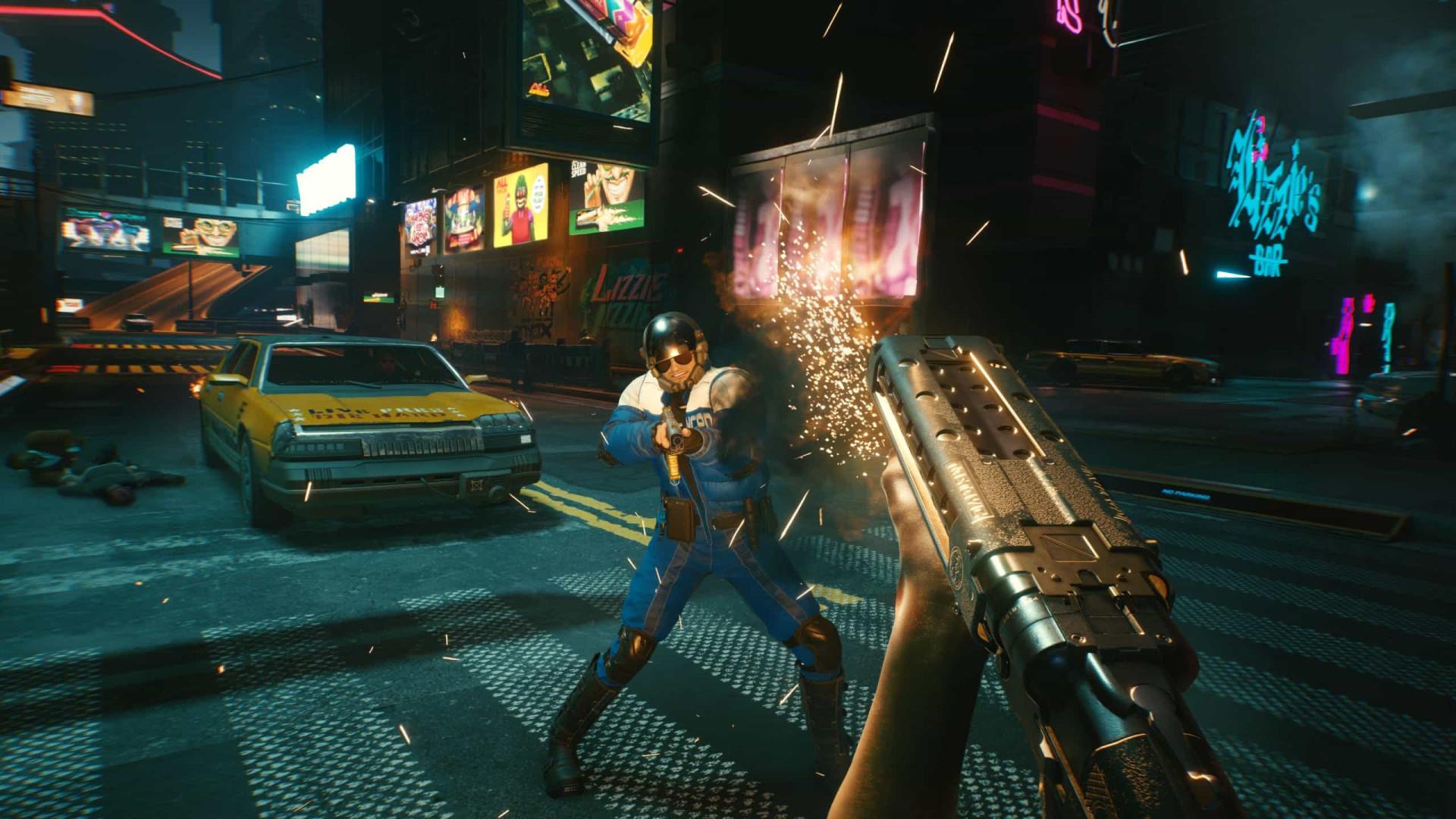 'Cyberpunk 2077'. As imagens de um dos jogos mais esperados de 2020