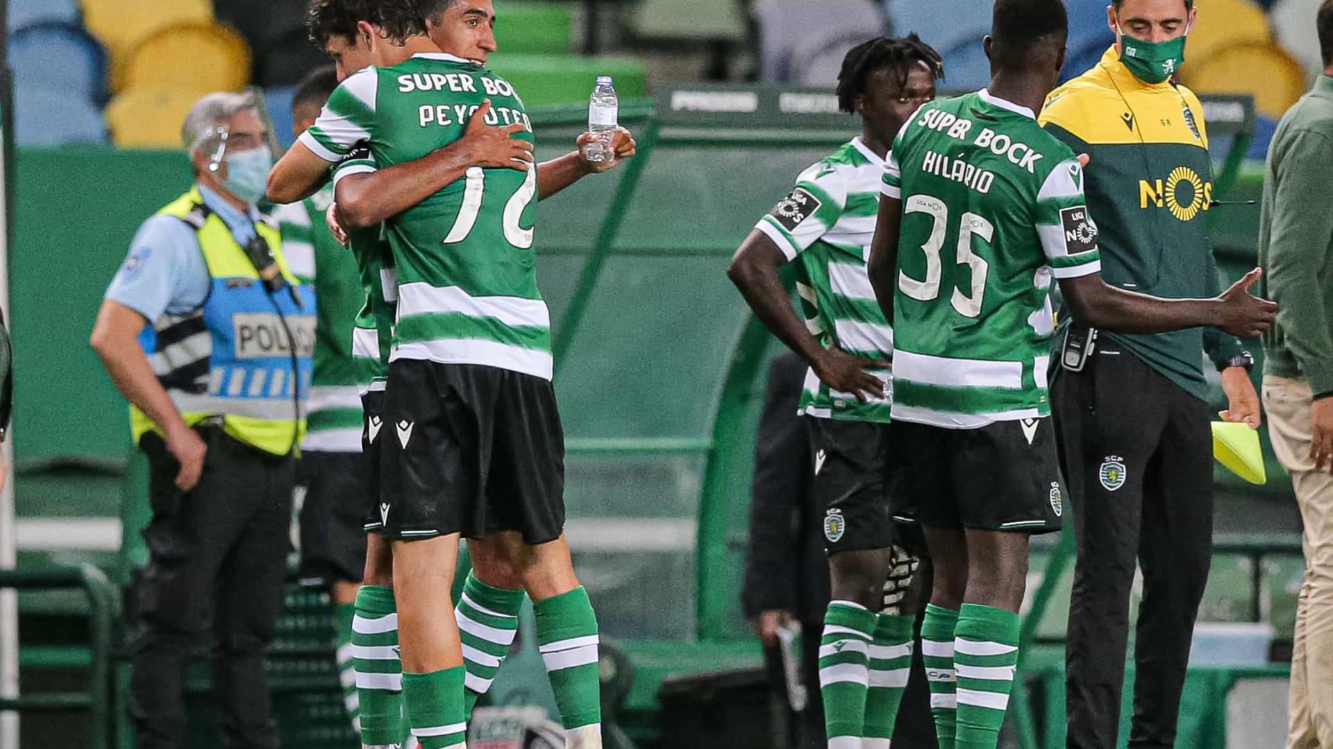 As notas do Sporting-Gil Vicente: Melhor leão da época movido a juventude