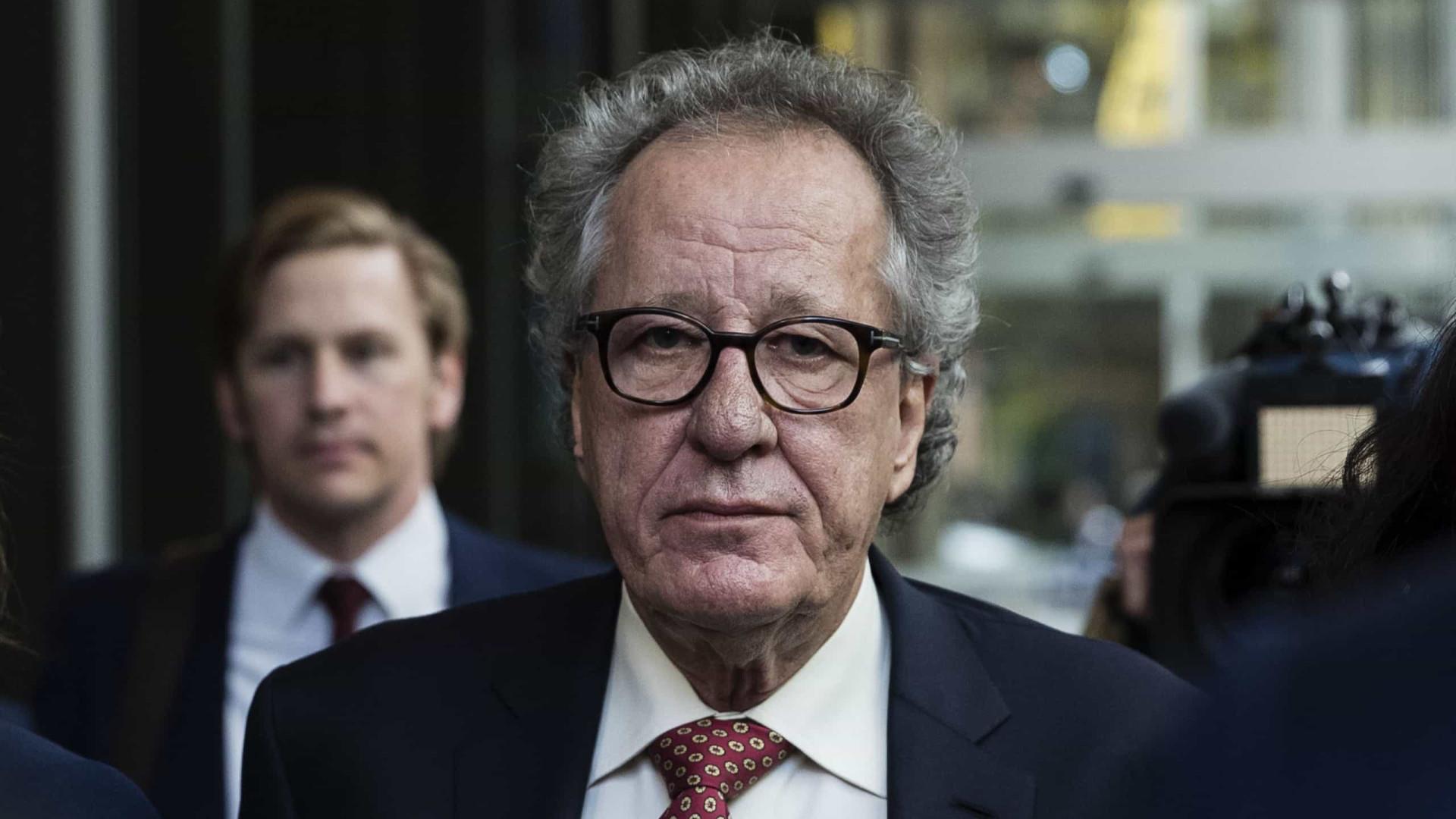 Justiça confirma indemnização milionária a Geoffrey Rush por difamação