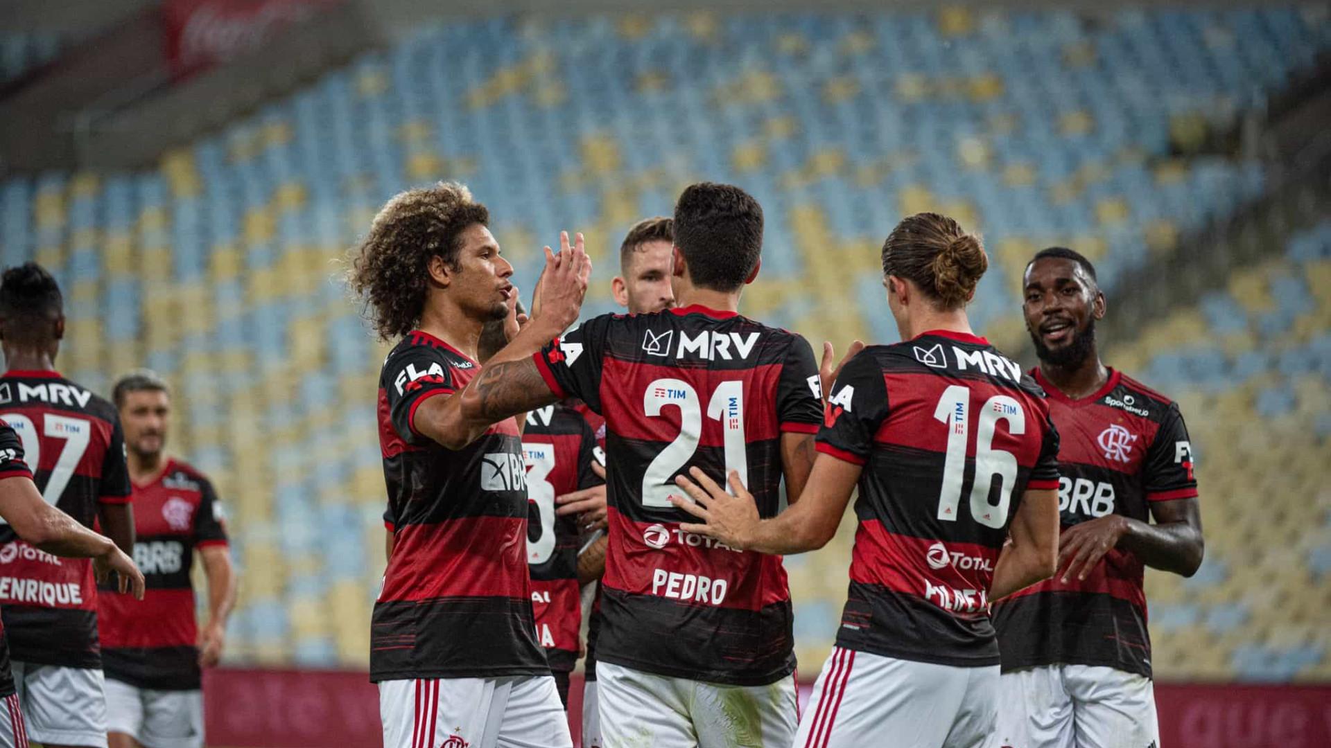 Flamengo, de Jorge Jesus, bate Boavista no regresso da Taça do Rio