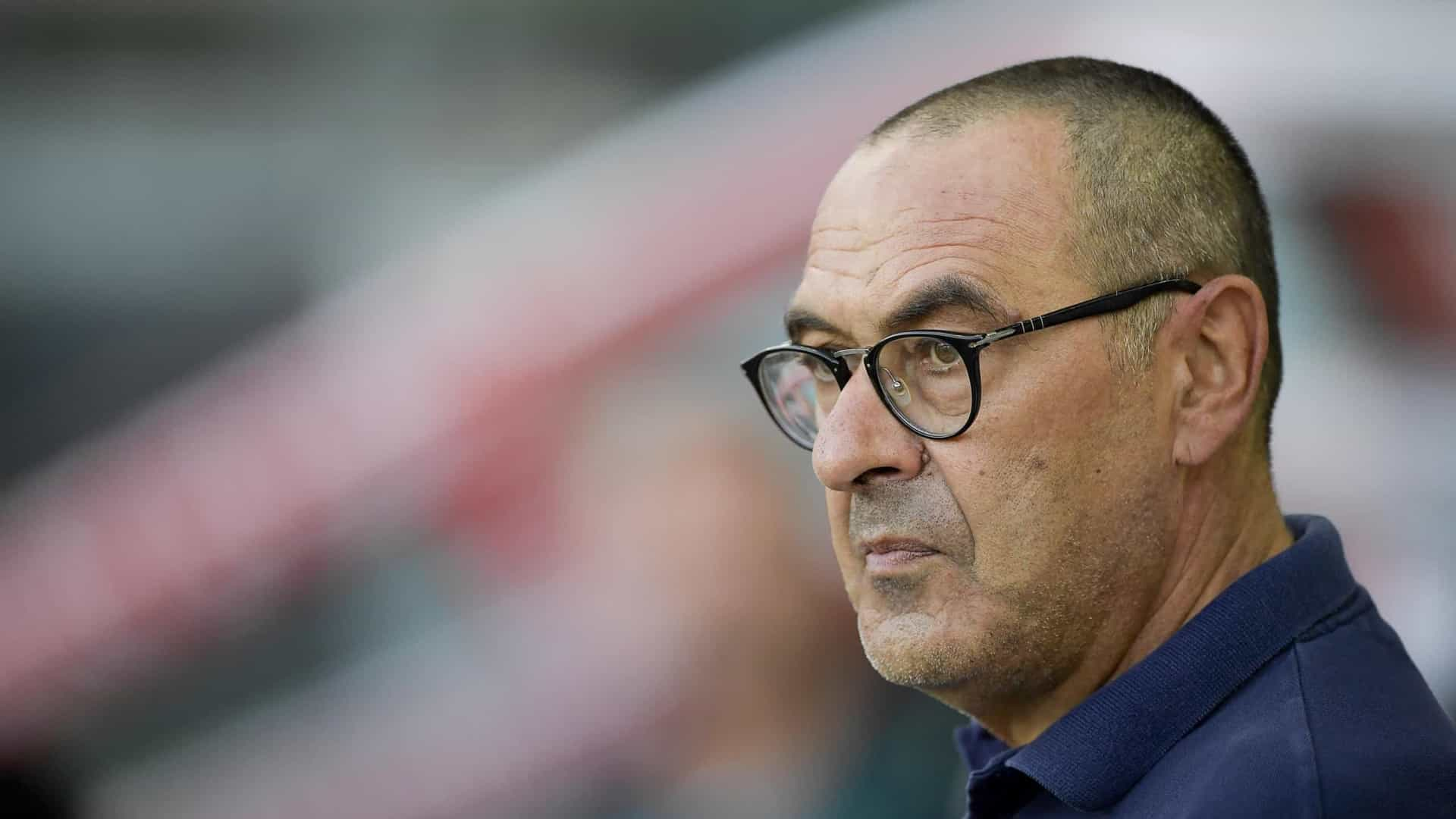 Juventus já estuda substitutos para Maurizio Sarri