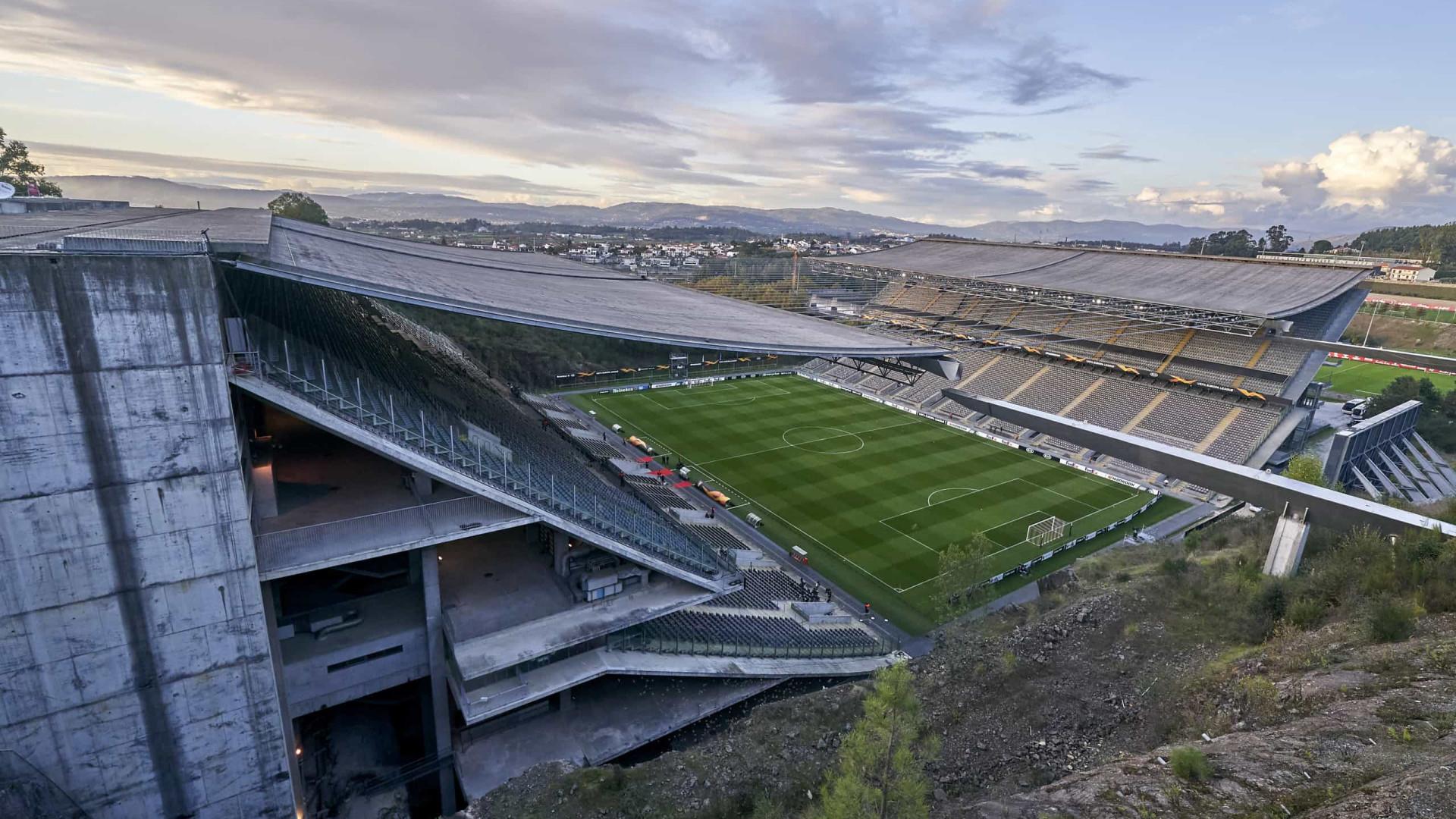 Sporting de Braga recorre da interdição da Pedreira