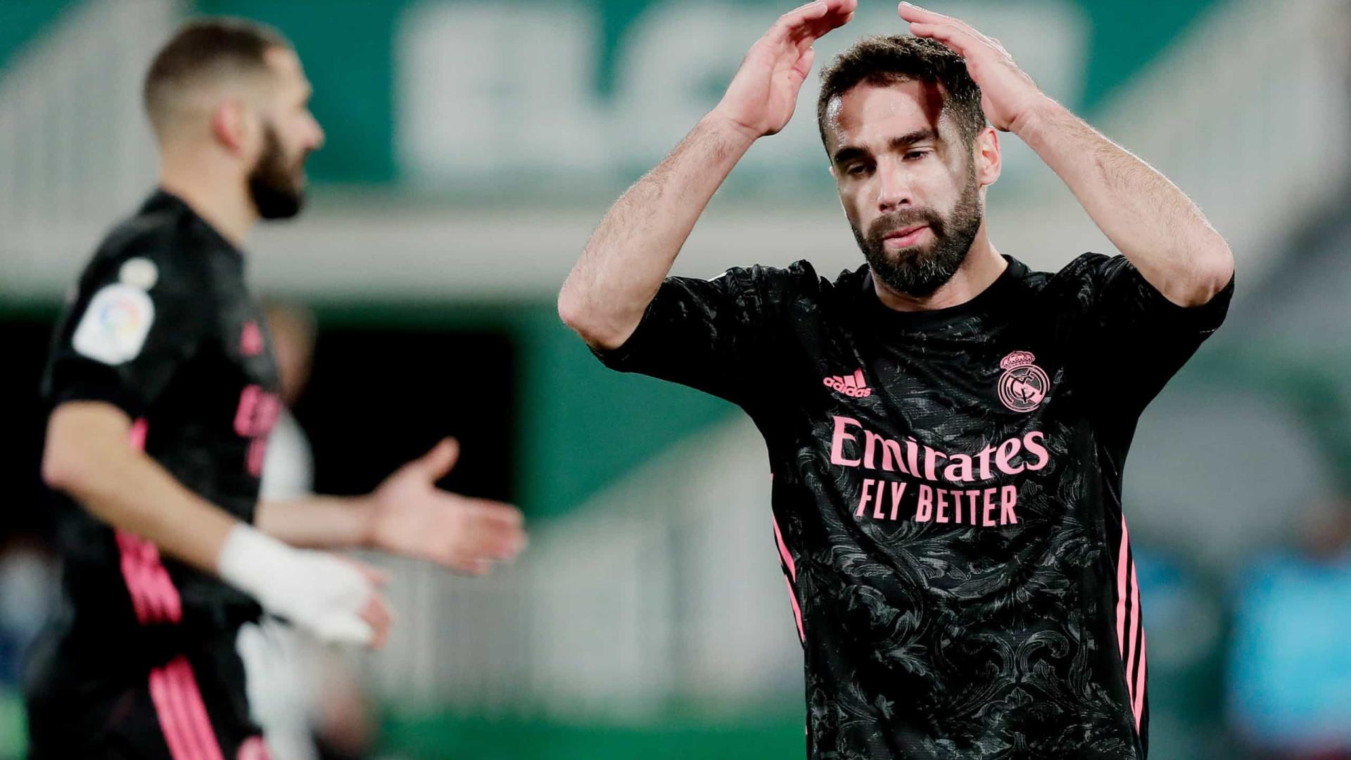 Real Madrid despede-se de 2020 com empate fora de casa