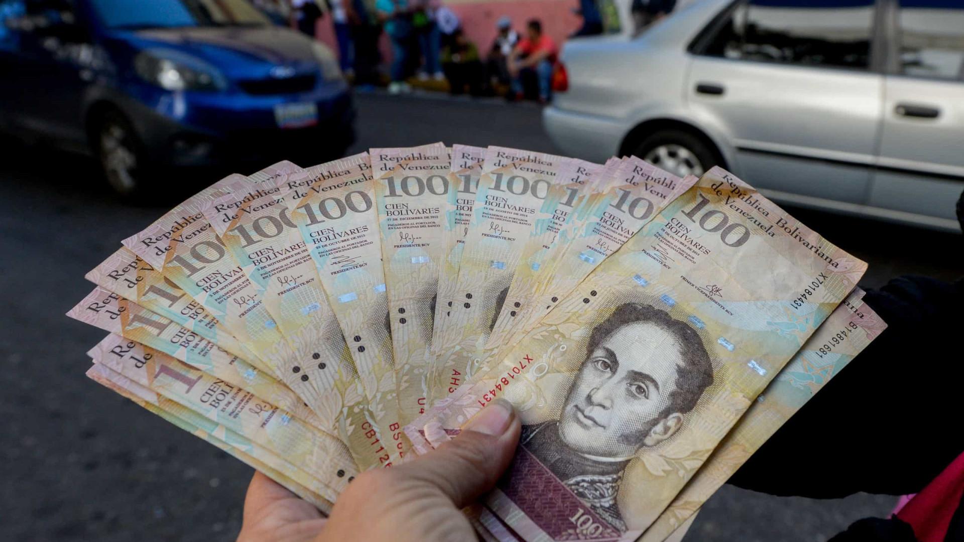 Venezuela: Banco Central introduz três novas notas