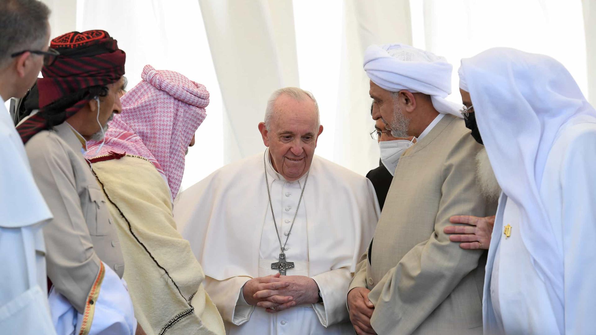 Papa denuncia terrorismo que abusa da religião durante visita ao Iraque