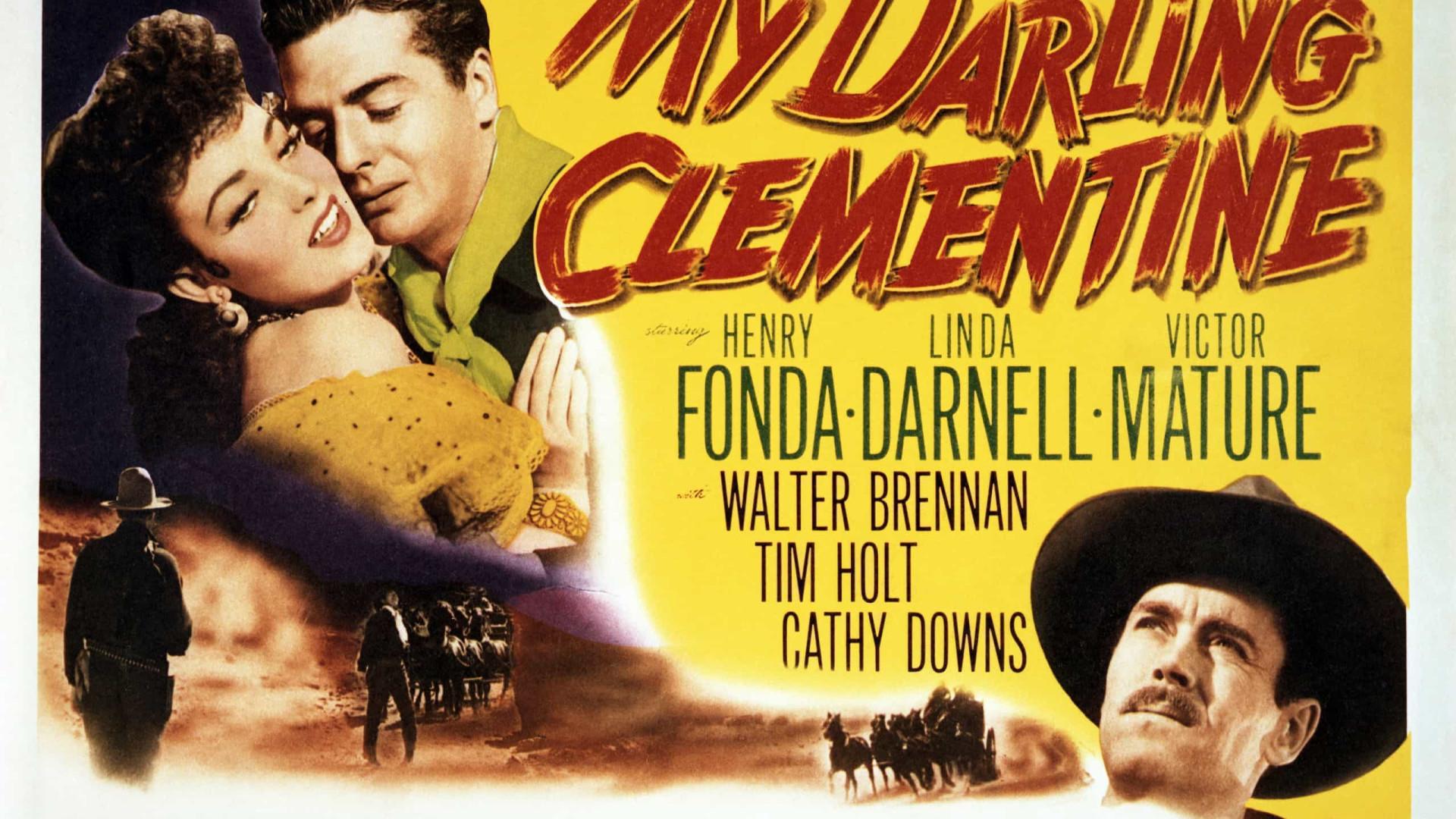 Arte de cartazes de filmes western antigos