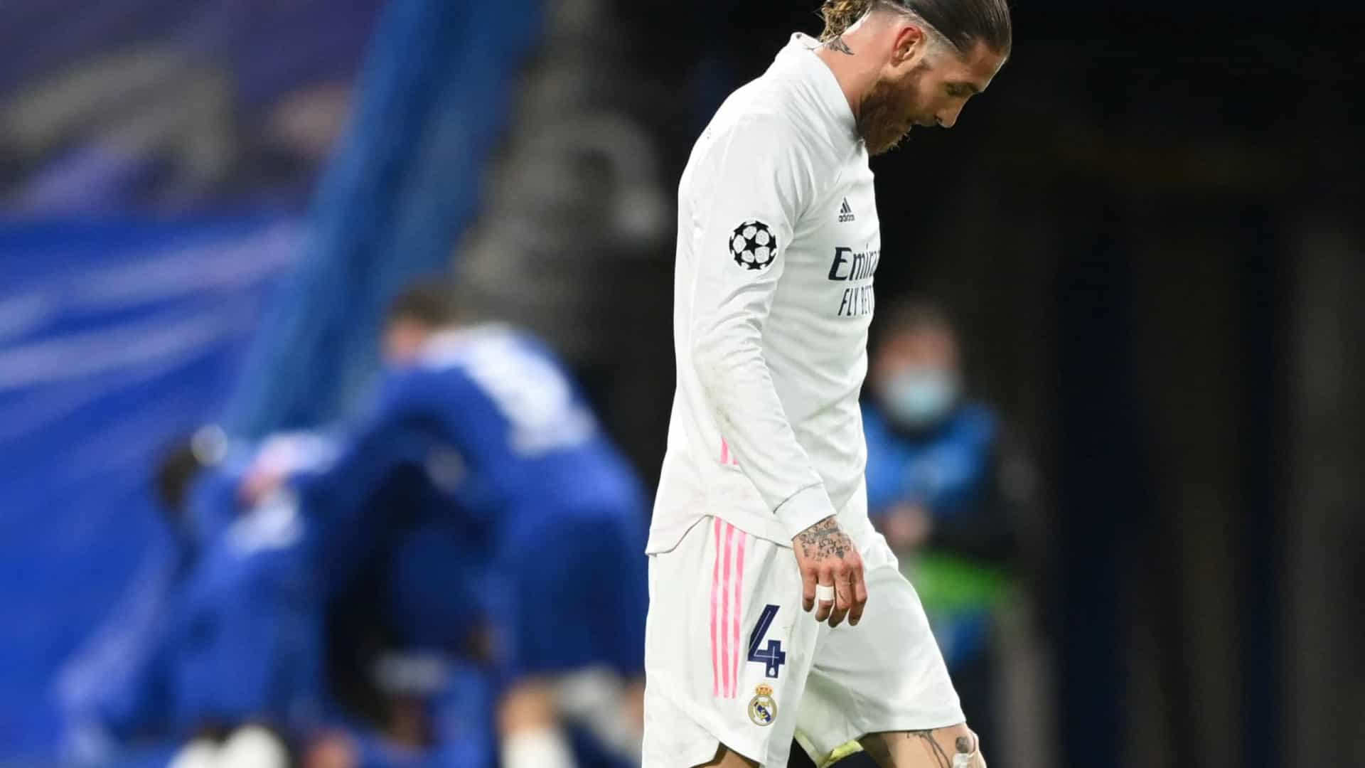 Real Madrid oficializa a saída de Sergio Ramos