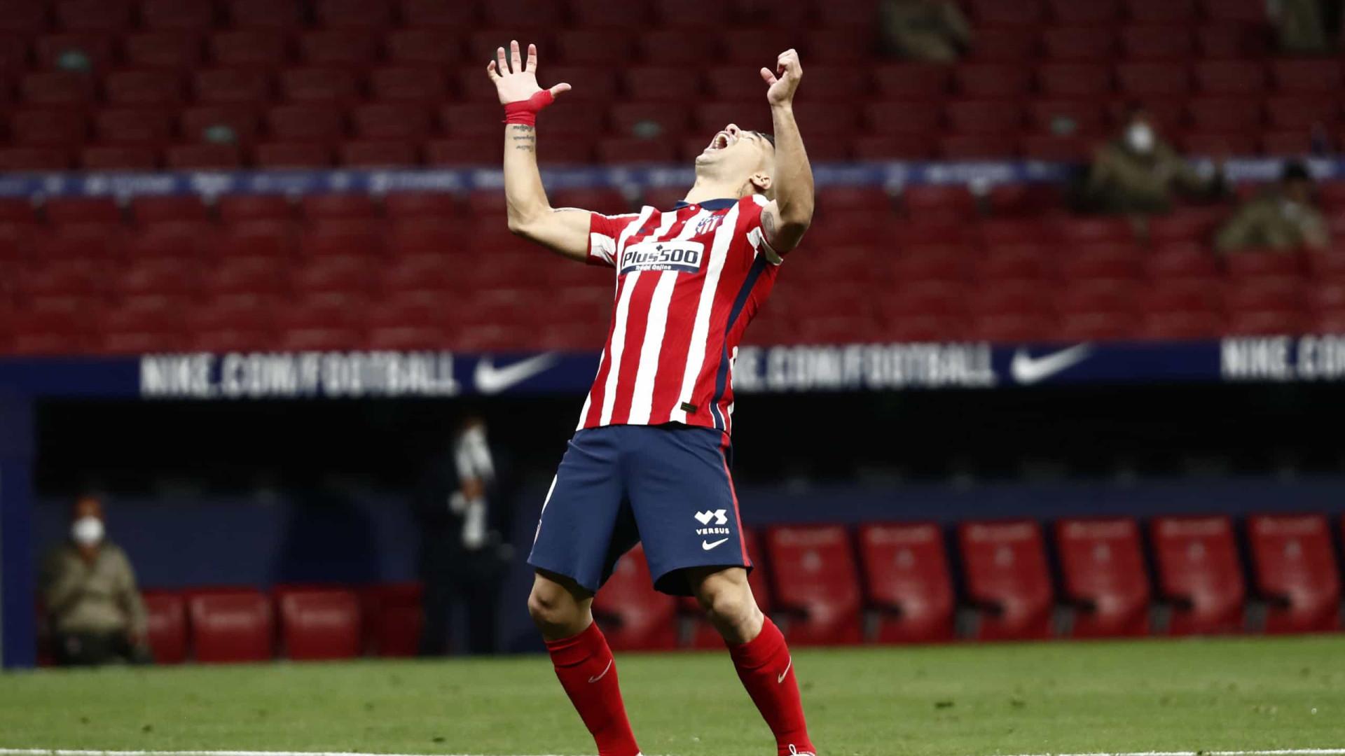 Atl. Madrid voltou a sofrer, mas já vê o céu e o alirón mais perto
