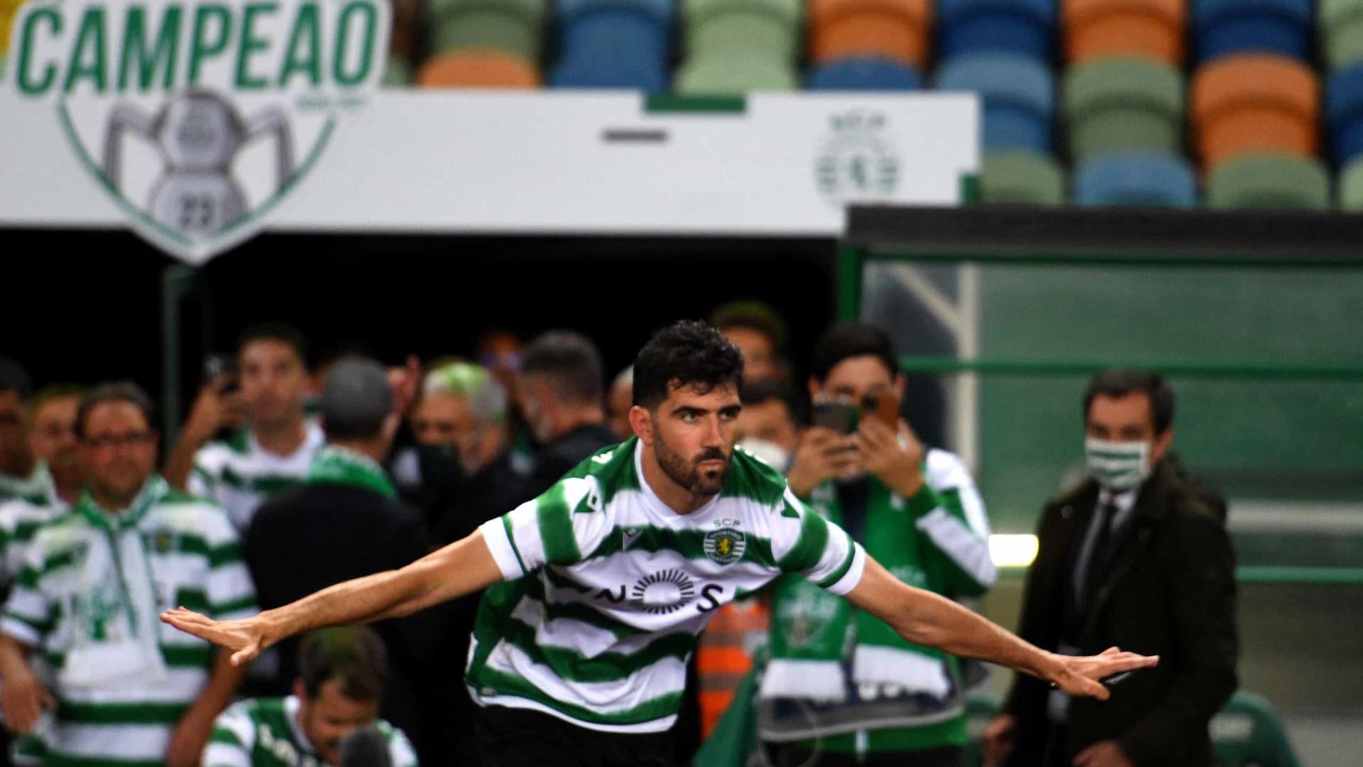 """Tive dúvidas se ia conseguir ver ou sentir a grandeza do Sporting"""