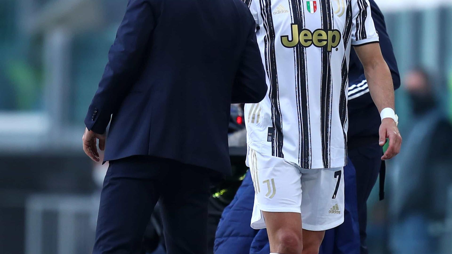 """Pirlo atira: """"Foi a primeira vez que Ronaldo ficou feliz por sair"""""""