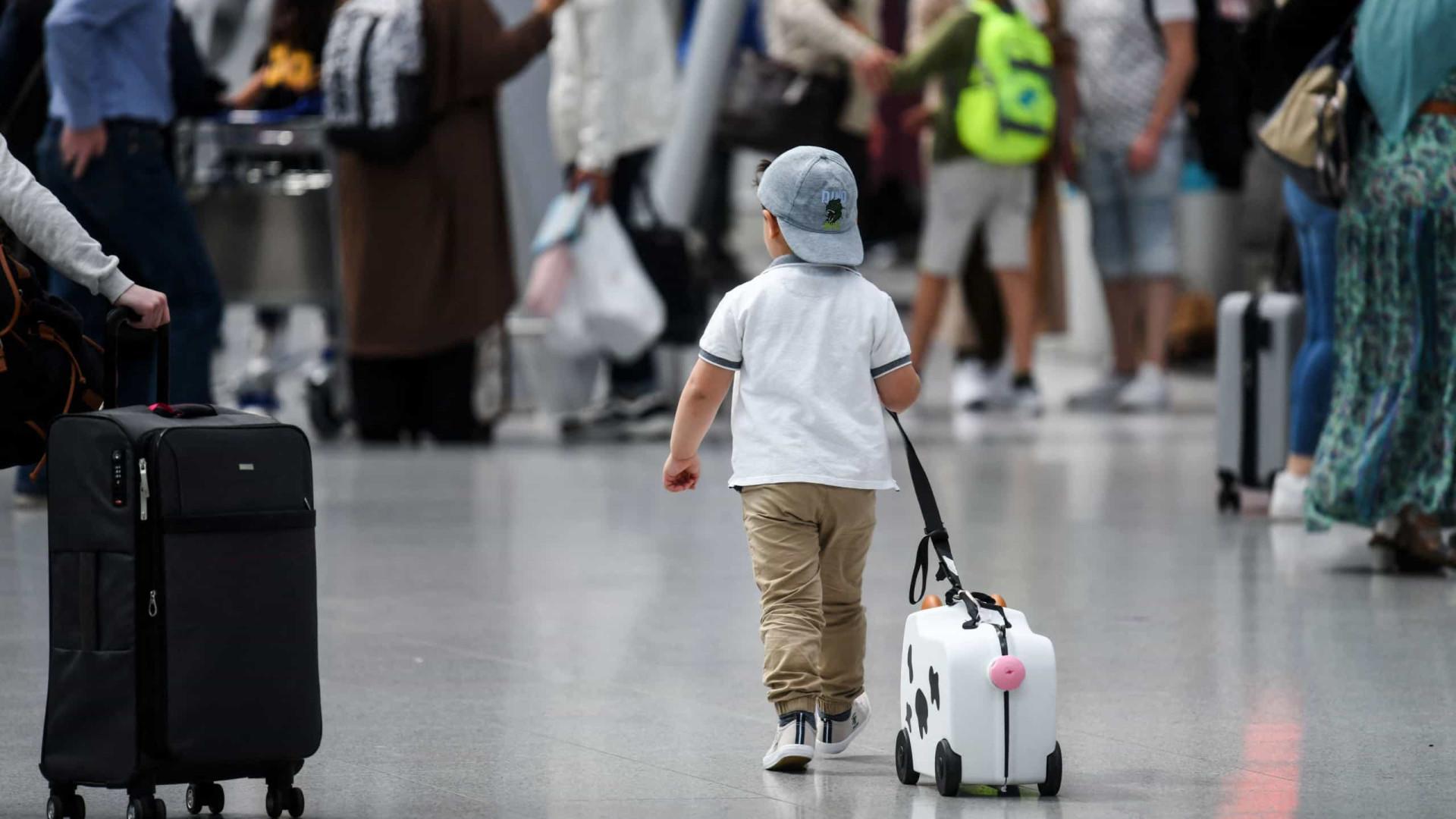 Movimento nos aeroportos nacionais mais do que duplica (e França ajudou)