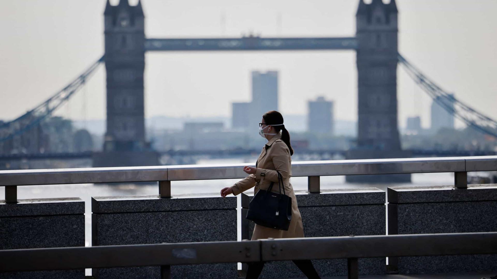 Reino Unido com quase 40 mil novos casos de Covid-19