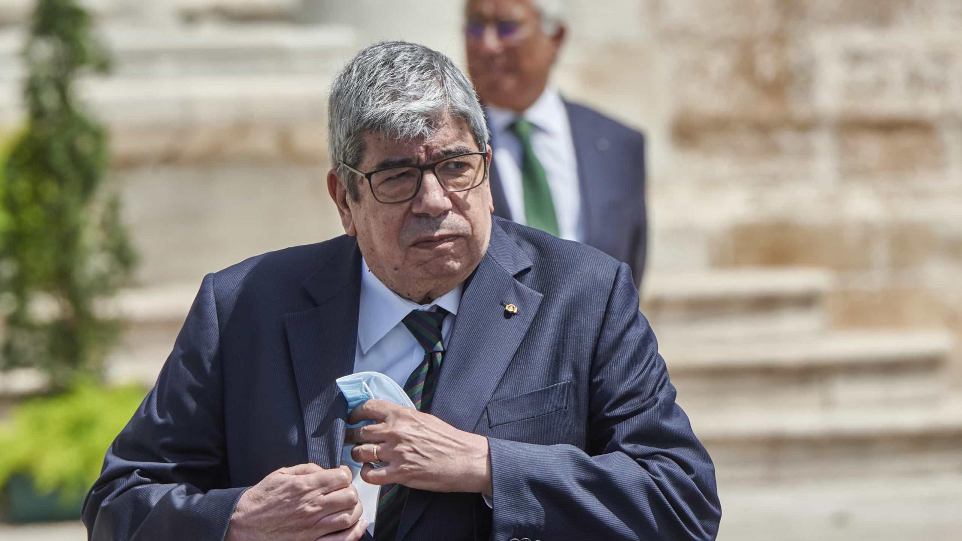 """Pichardo """"honra o país que o acolheu e fez seu"""", diz Ferro Rodrigues"""