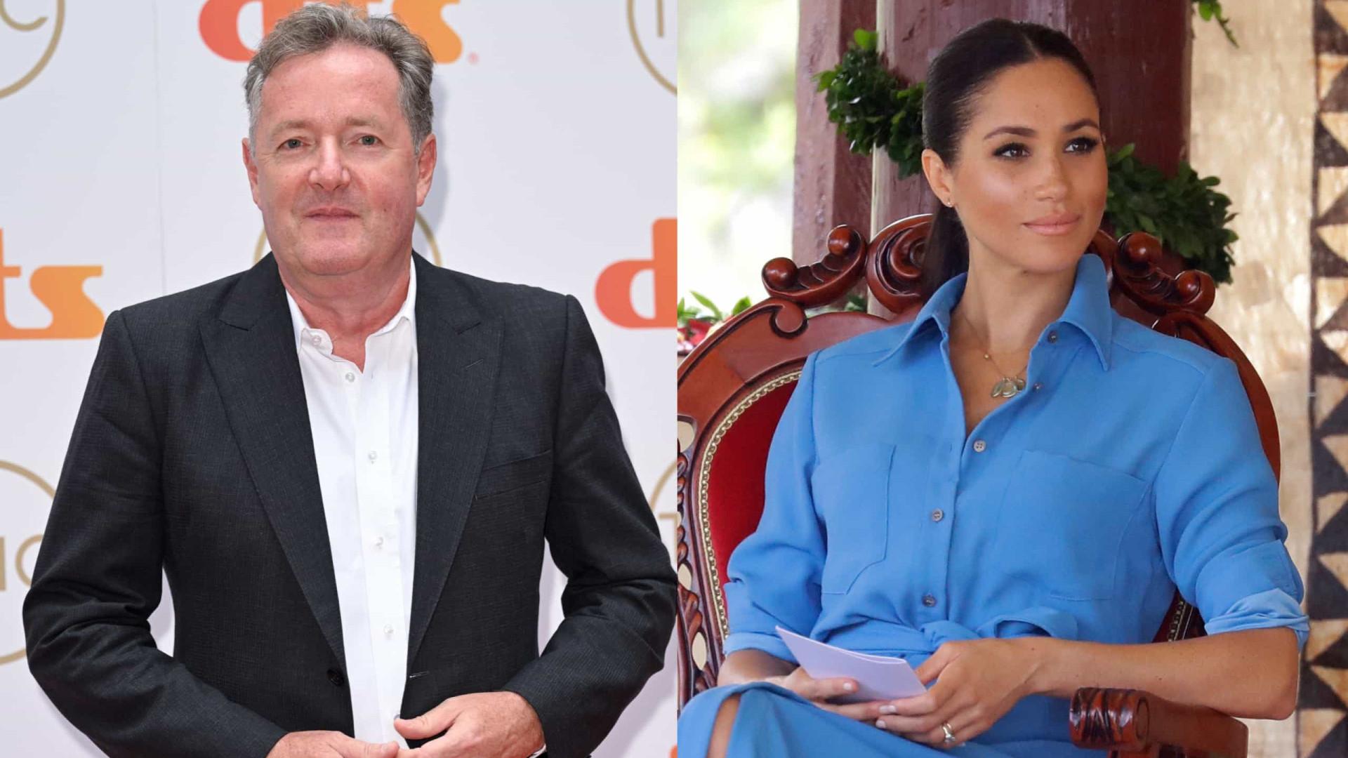 Piers Morgan promete ser o pesadelo de Meghan Markle em novo trabalho