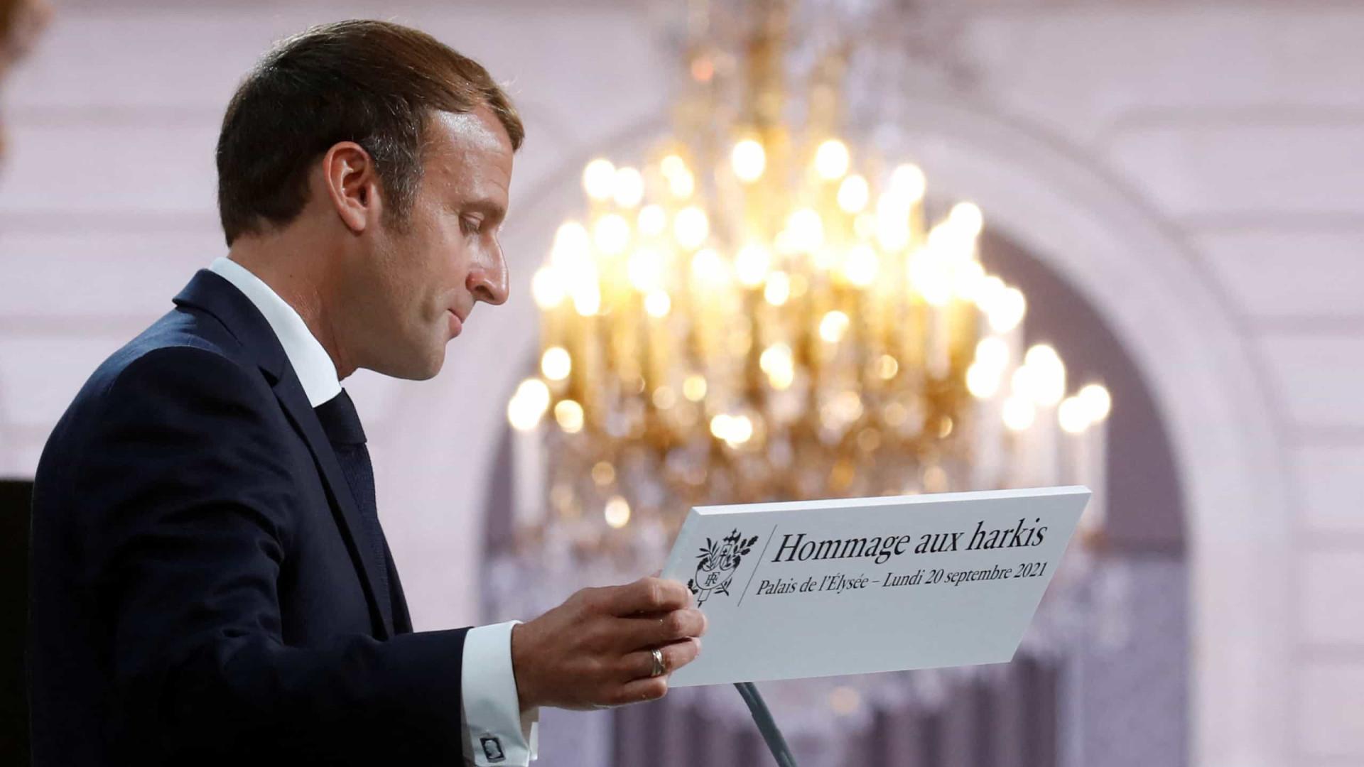 França pede desculpa a combatentes muçulmanos na guerra da Argélia