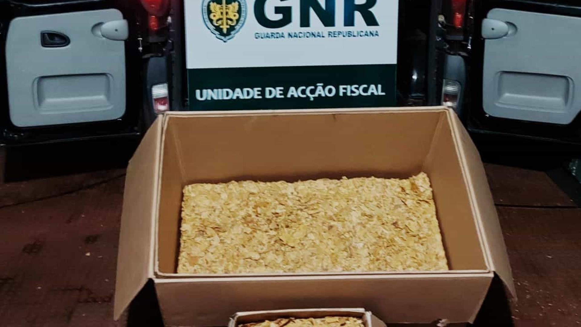 GNR apreende na Maia meia tonelada de folha de tabaco