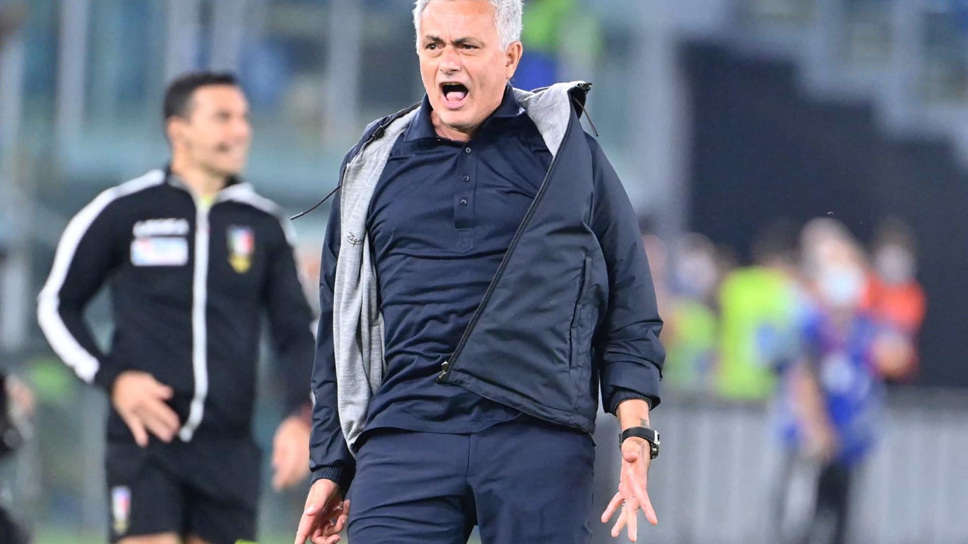 """Mourinho: """"Jogámos os melhores primeiros 35 minutos desta época"""""""