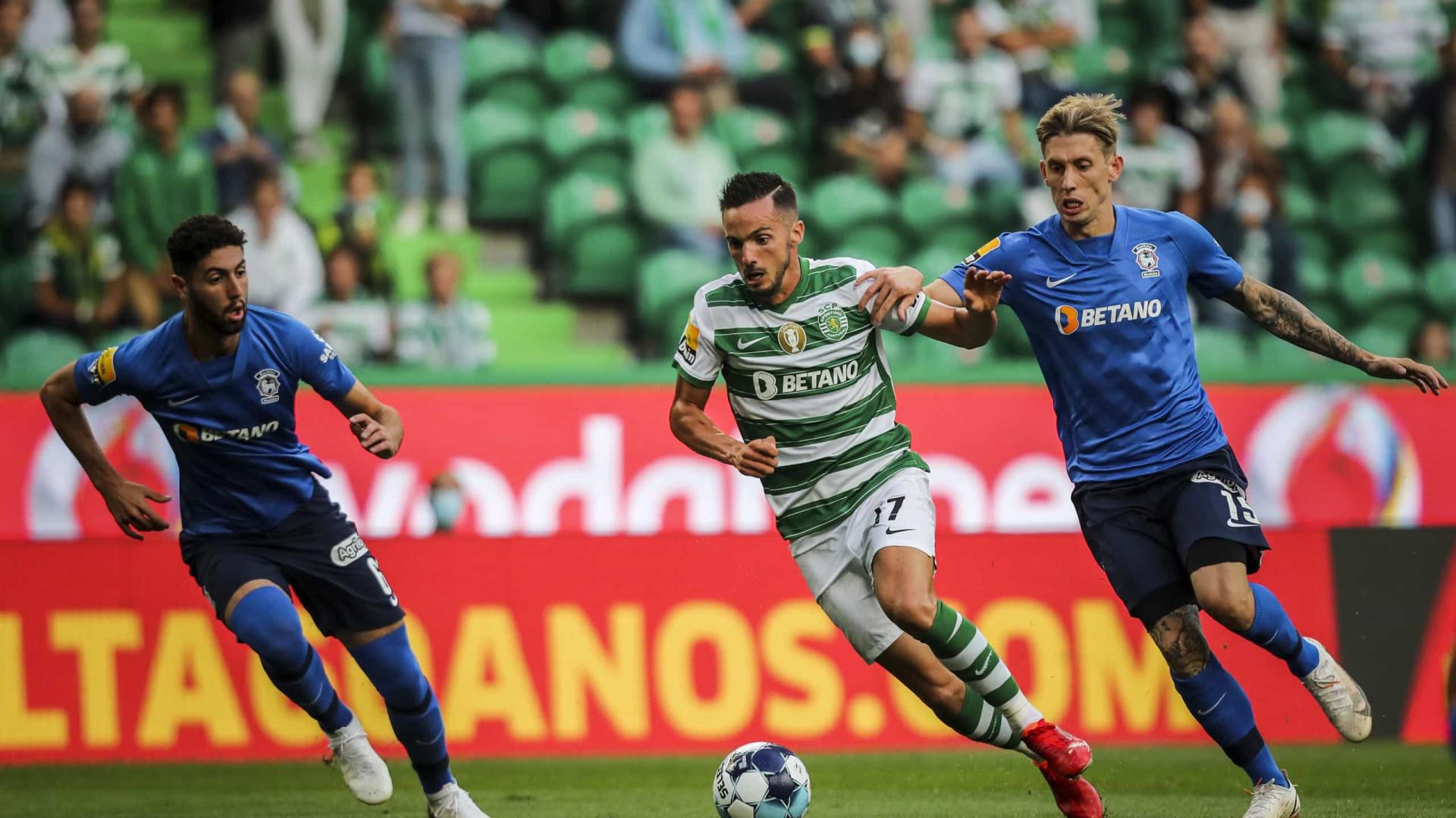 Penálti na compensação dá vitória ao Sporting sobre o Marítimo