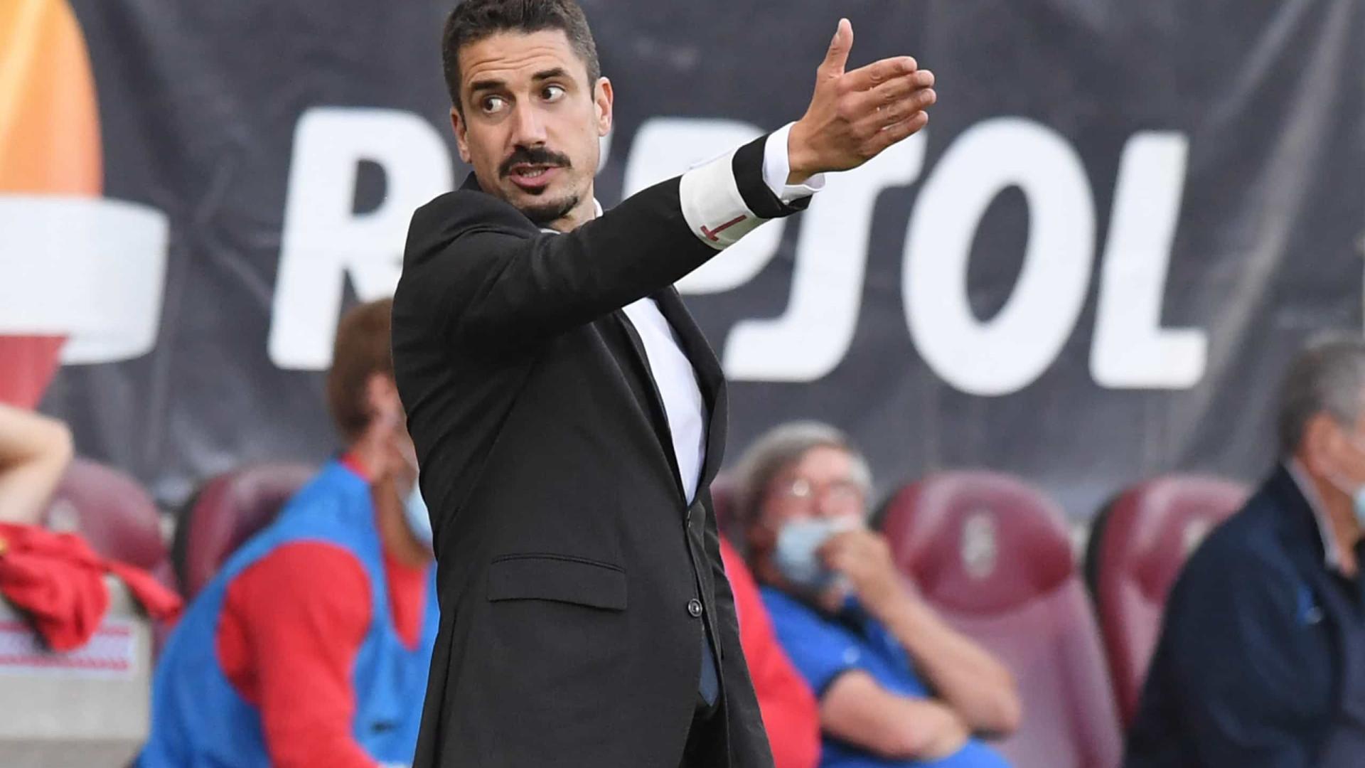 """Velázquez: """"Um empate era ouro para nós, era sensacional"""""""