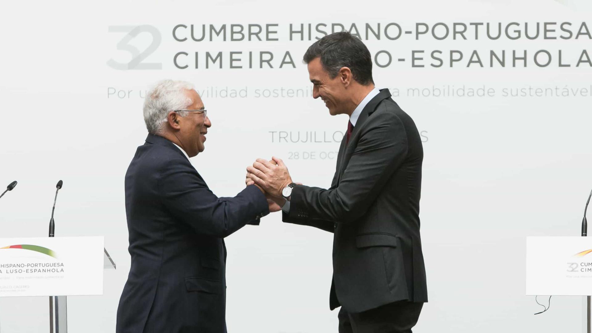 PRR. Portugal e Espanha avançam com projetos conjuntos em quatro áreas